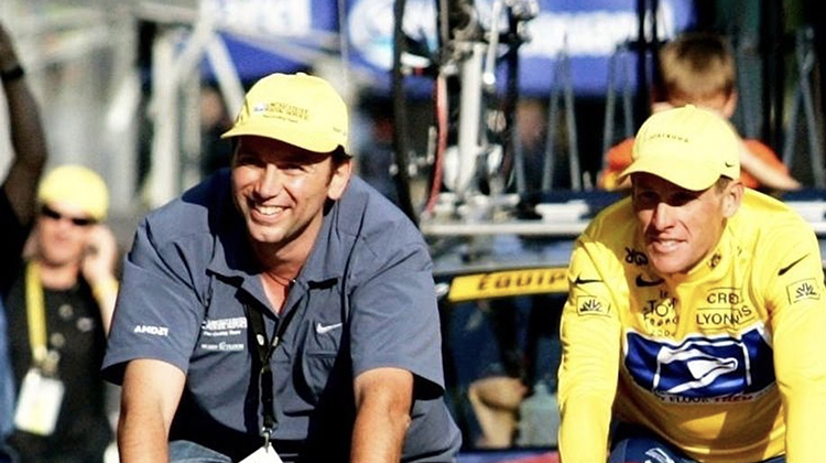 Johan Bruyneel and a great team